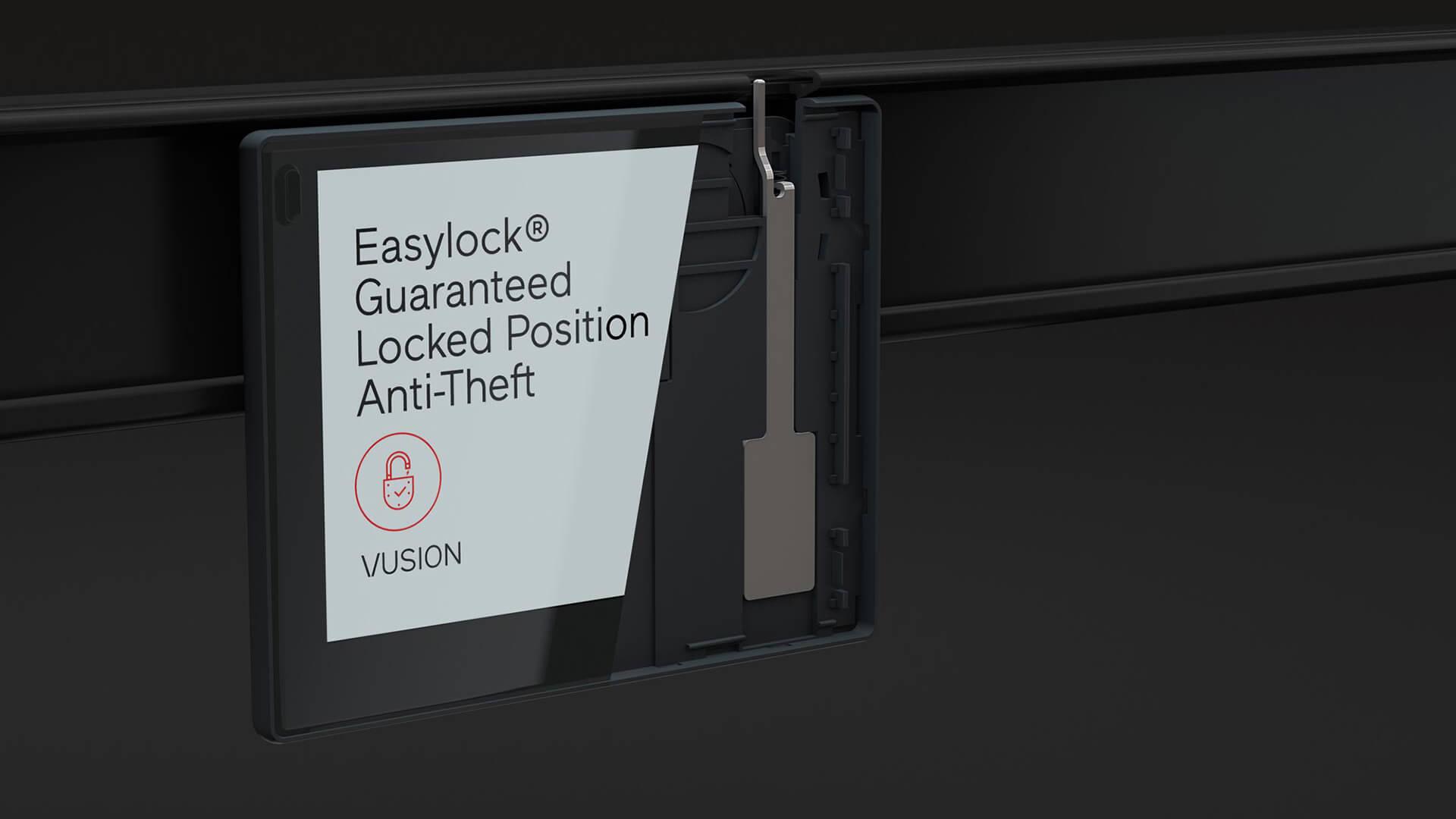 VUSION Easylock-size